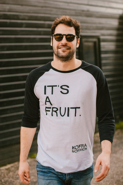 """It's a fruit"" Raglan Top"
