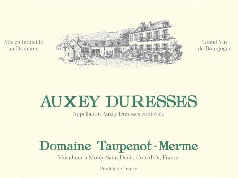 Auxey - Duresses Blanc, Domaine Taupenot-Merme 2016