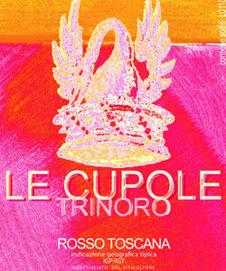 Le Cupole Trinoro, Rosso Toscana I.G.T. 2014 DOUBLE MAGNUM