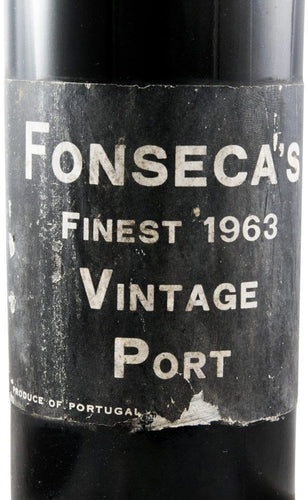 Fonseca Finest Vintage Port 1963