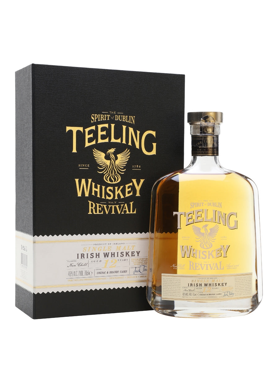 Teeling Single Malt Irish Whiskey 12 Y.O. Revival Vol.5 46%