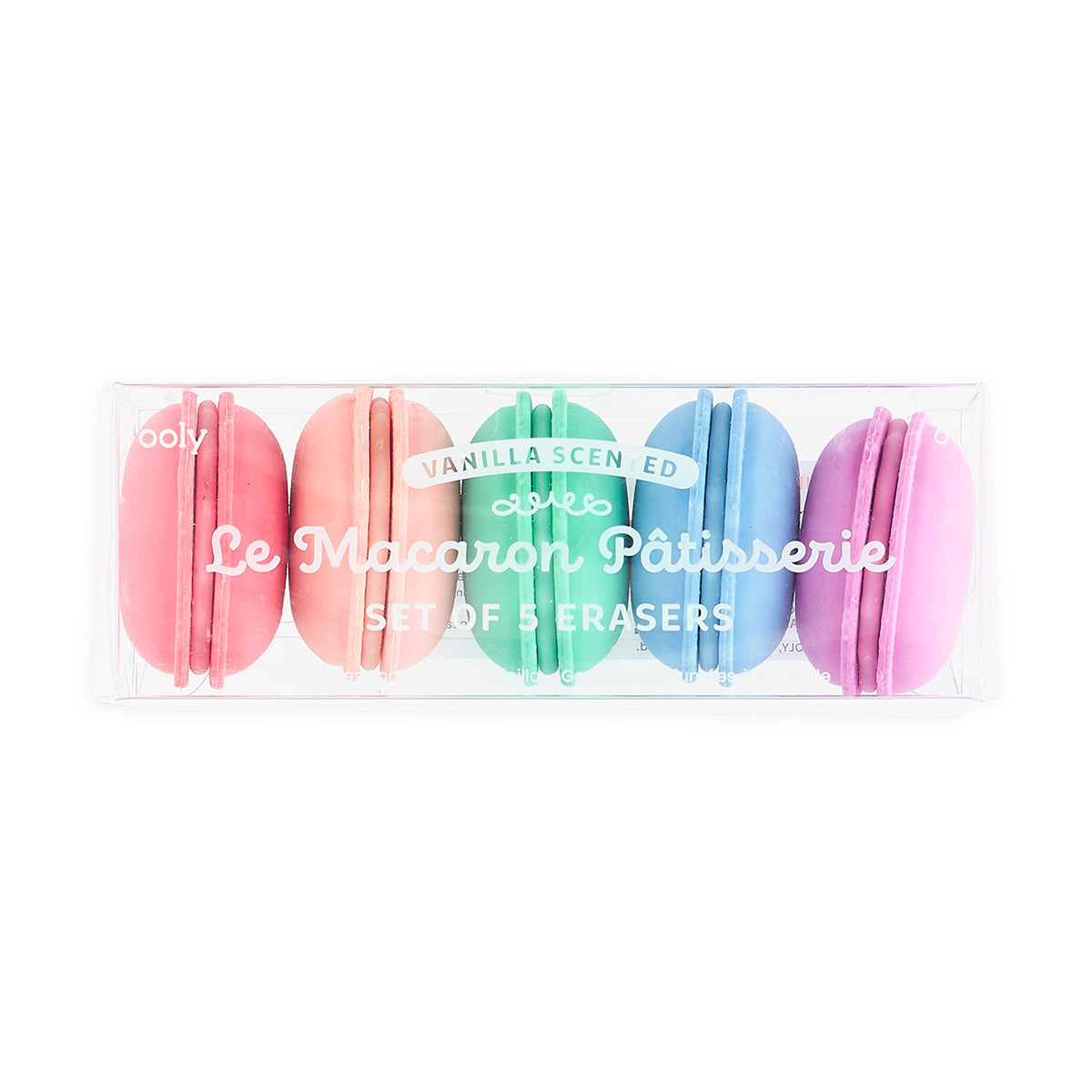 Le Macaron Patisserie Scented Erasers - Set of 5