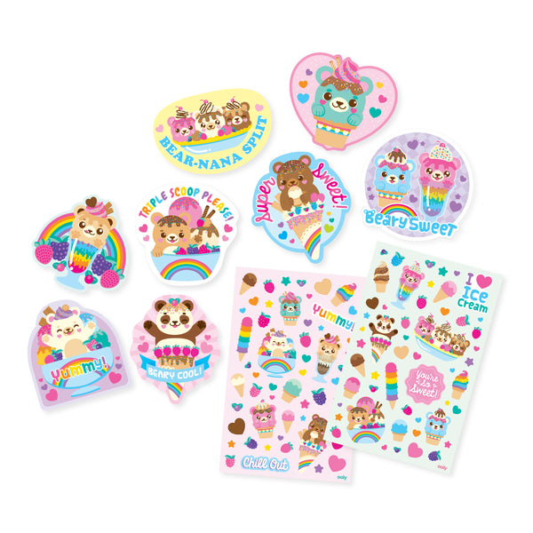 Scented Scratch Stickers: Beary Sweet