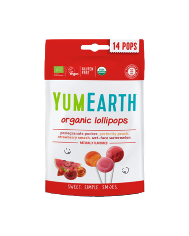 Yumearth Assorted Flavour Organic Pops