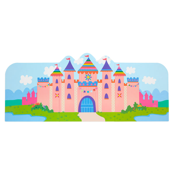 Play Again! Reusable Sticker Scenes: Princess Garden