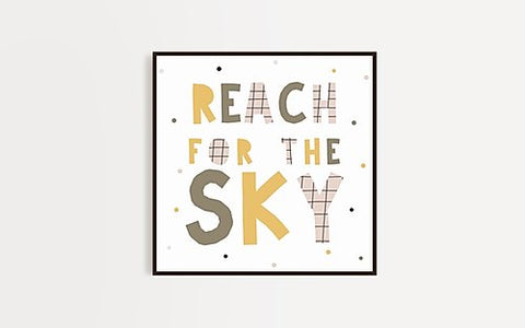 Reach for the Sky - Wall Frames
