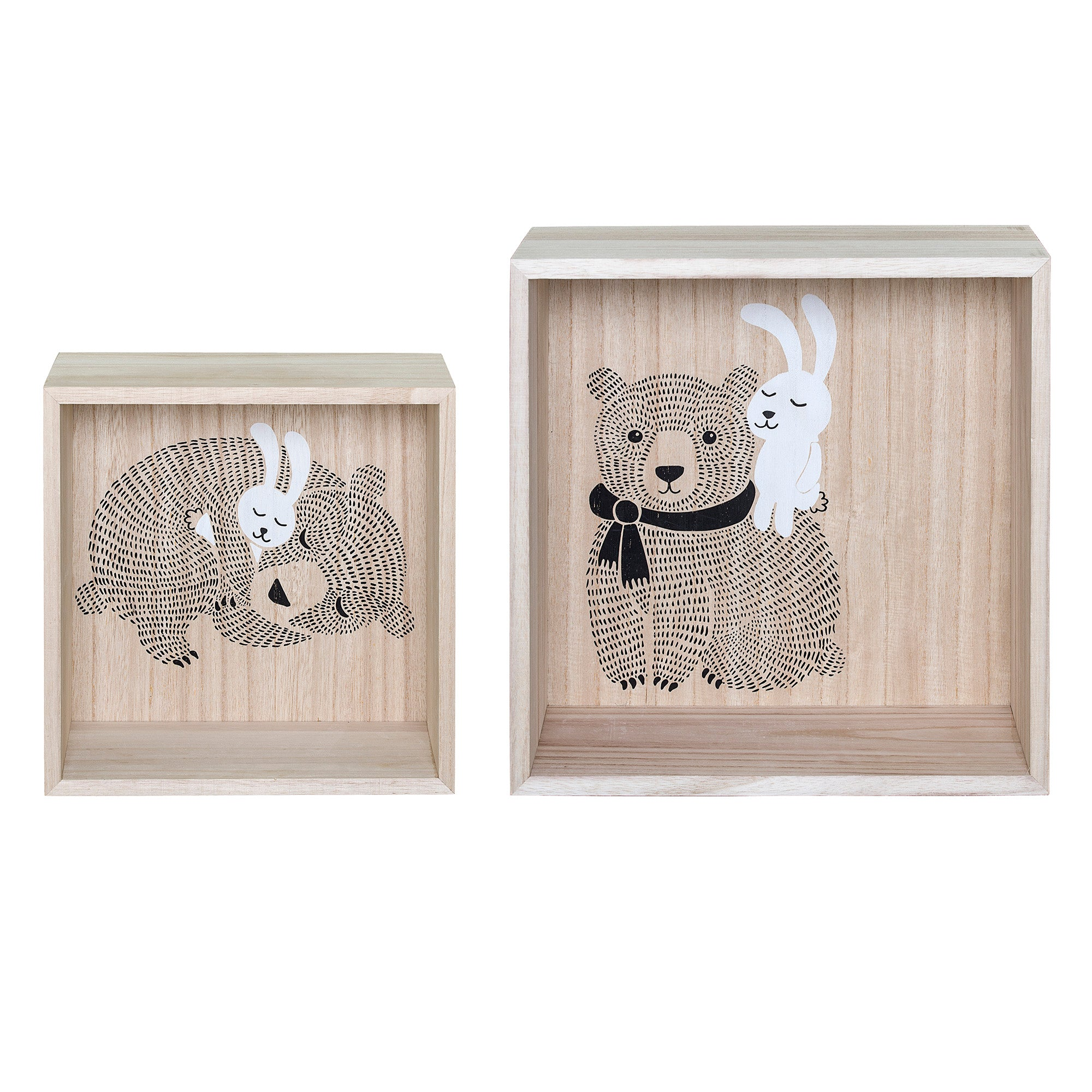 Woodland Display Box- Set of 2