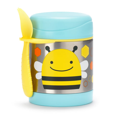 Skip Hop Zoo Insulated Little Kid Food Jar-Bee