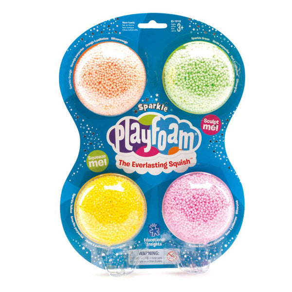 Learning Resources Playfoam Sparkle (4 Pack)
