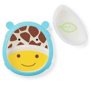 Skip Hop Zoo Smart Serve Non-Slip Training Set-Giraffe