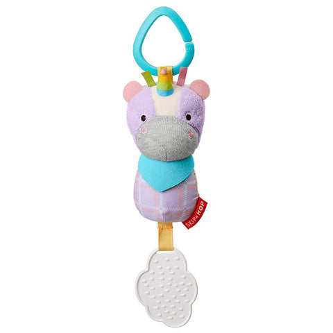 Bandana Buddies Chime & Teether Toy - Unicorn