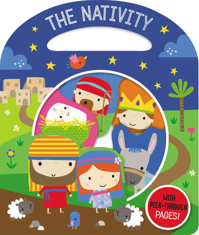 Busy Windows Nativity - Board Book