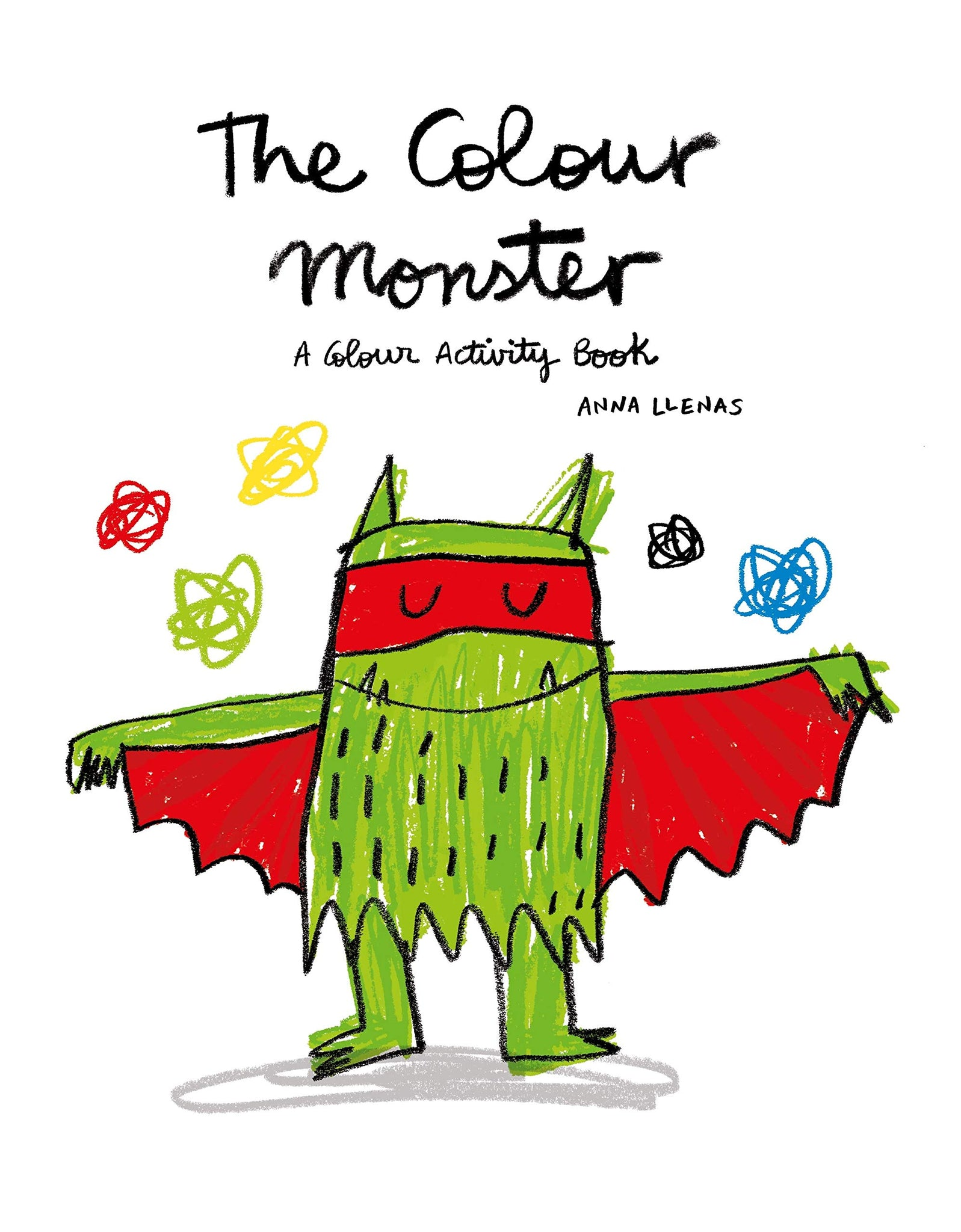 Colour Monster Colour Activity Book
