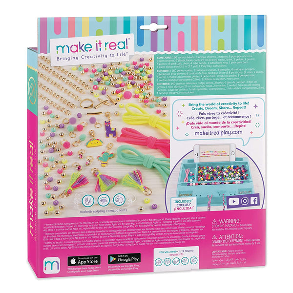 Make It Real Neo-Brite Chains & Charms, Multicolour