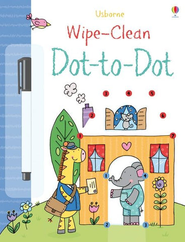 Wipe-Clean Dot-to-Dot