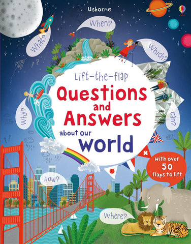 Lift the Flap Q and A About Our World