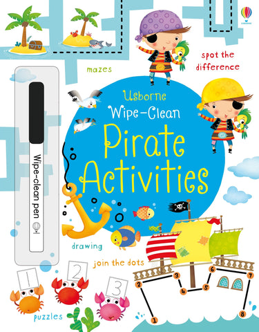 Wipe Clean Pirate Activities
