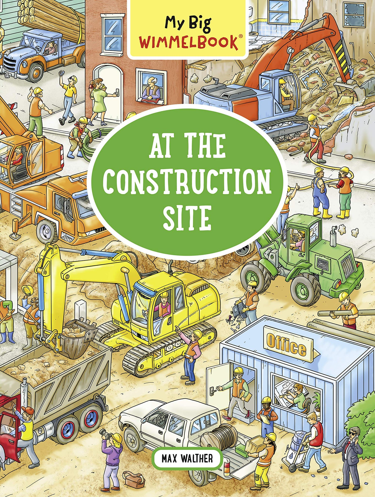 My Big Wimmelbook―At the Construction Site