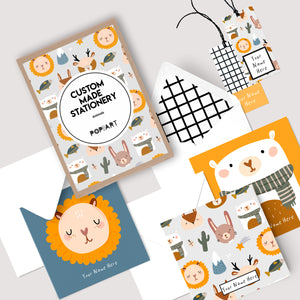 Personalised Gift Cards & Tags - Animal