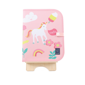 Chalk Doodle Reusable Place Mat - Unicorn
