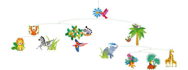 Paper Mobiles - The Jungle World