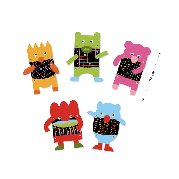 Scratch Cards - Little Monsters