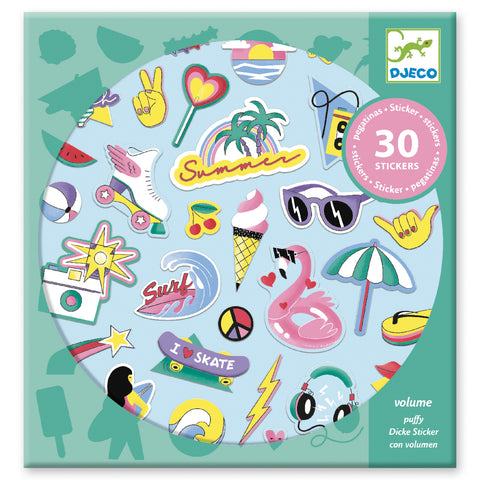 Puffy Stickers - 2 Designs