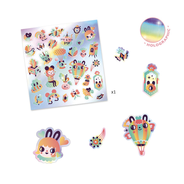 Holographic Stickers - Lovely Rainbow