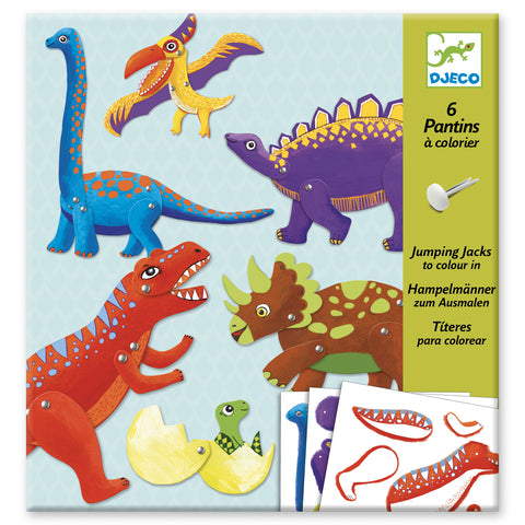 Folding Art - Dino Jumping Jacks to Create
