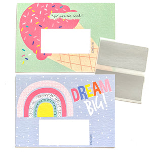 Scratch Off Notes - Rainbow