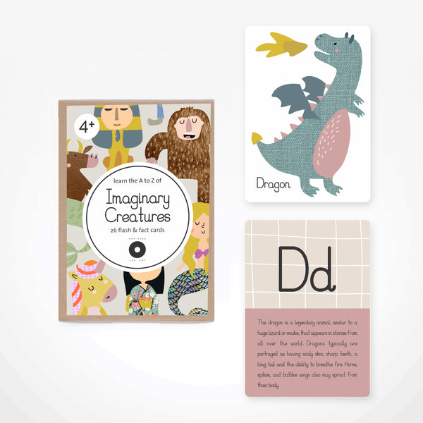 Fact & Flash Cards - Imaginary Creatures