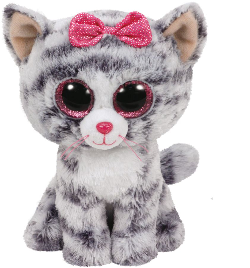 Kiki-Grey Cat Regular Beanie Boo Collection
