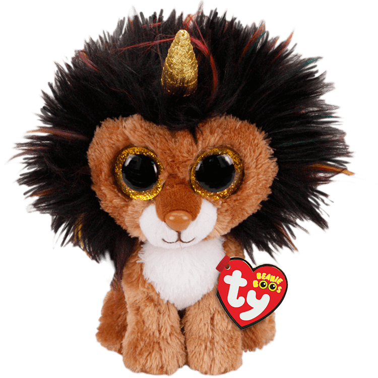 Ramsey-Lion with Horn Regular Beanie Boo Collection