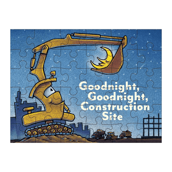 Goodnight Goodnight Construction Site Puzzle to Go