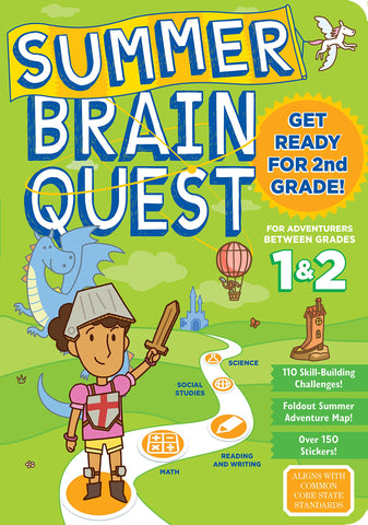 Summer Brain Quest: Between Grades 1 & 2  (Ages 6-7 Years)