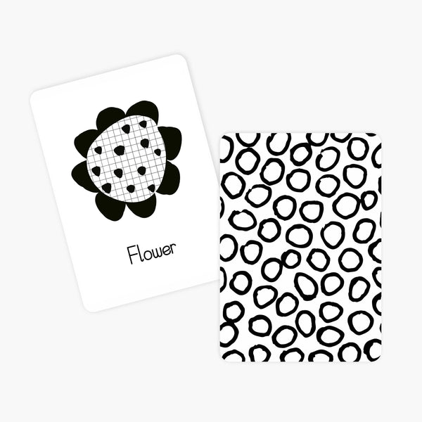 Newborn High Contrast Flash Cards