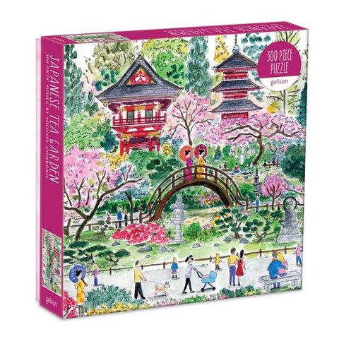 Michael Storrings Japanese Tea Garden-300 Piece Puzzle