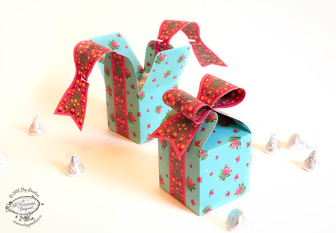 Bow Gift Box - Set of 3