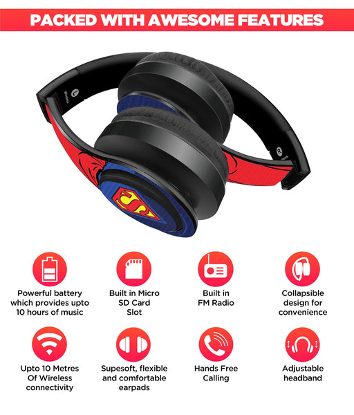 Suit Up Superman Wireless Headphones
