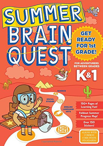 Summer Brain Quest: Between Grades K & 1 (Ages 5-6 Years)