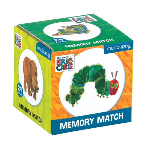 Mini Memory Match Games - World of Eric Carle The Hungry Caterpillar