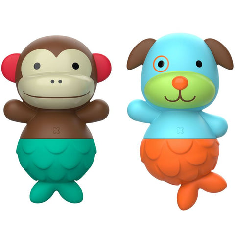 Skip Hop Zoo Mix & Match Flippers - Monkey Dog