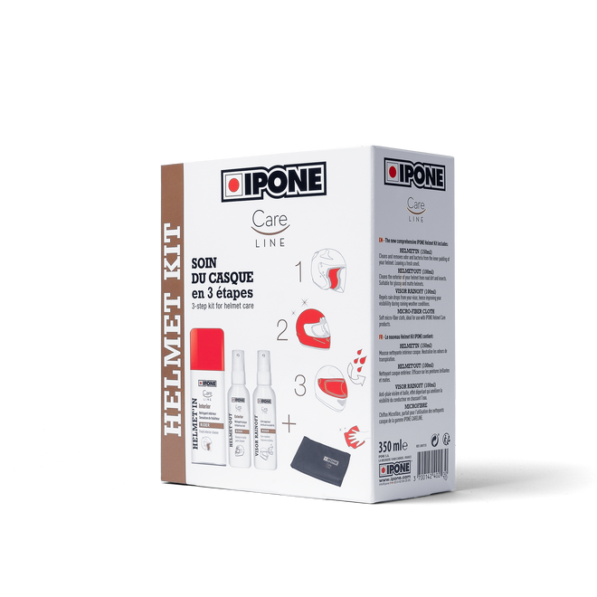 Pack soin casque ipone