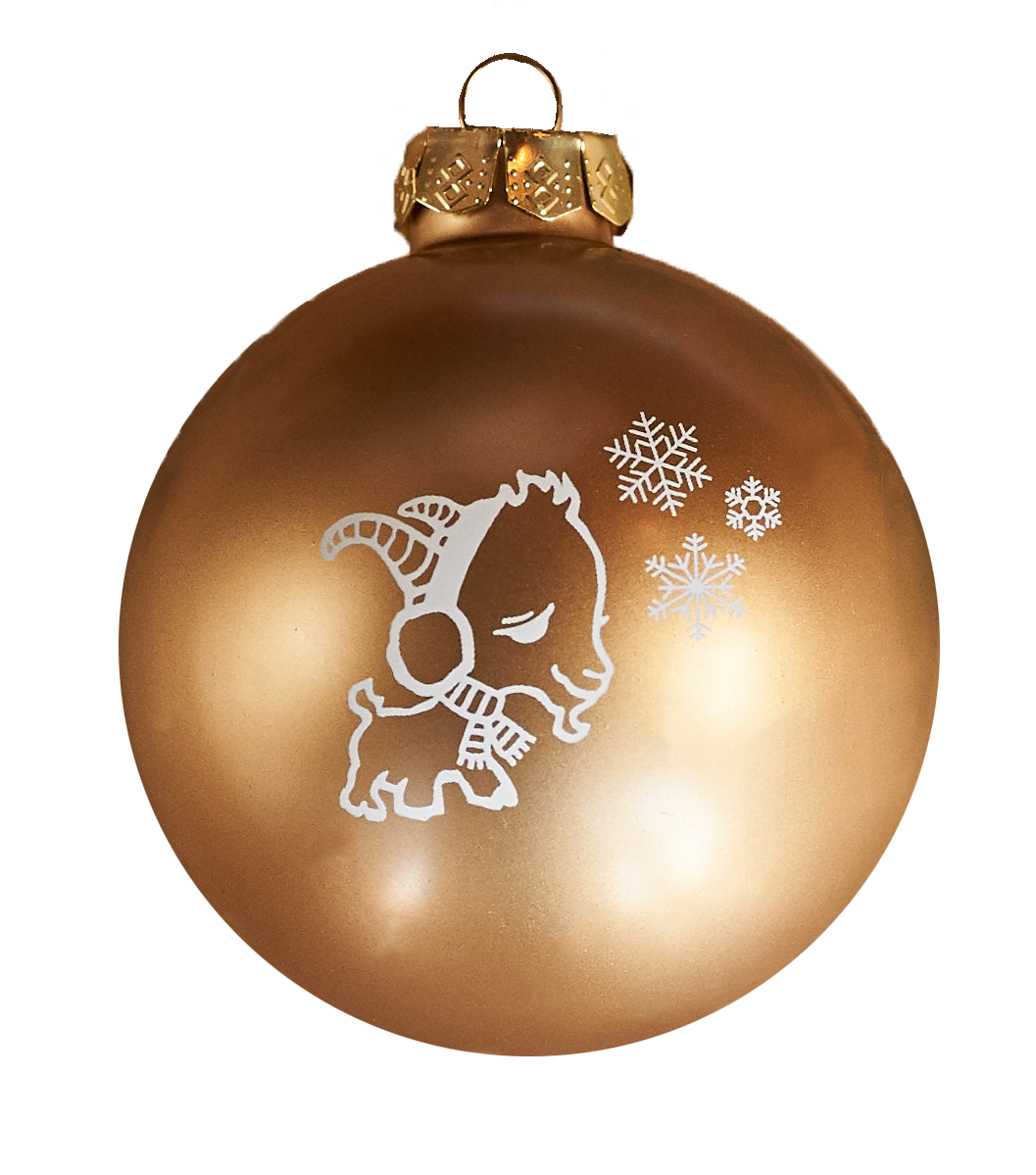 Goat Holiday Ornament