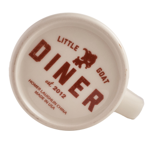 Little Goat Ceramic Diner Mug
