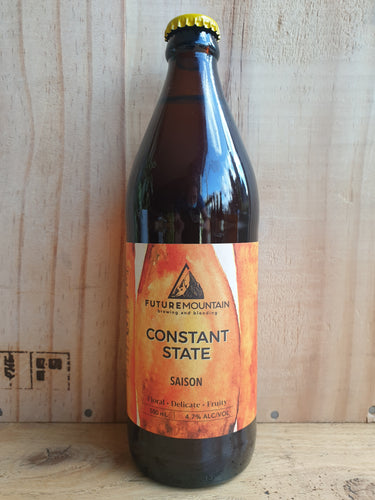Future Mountain Constant State Saison 500ml bottle