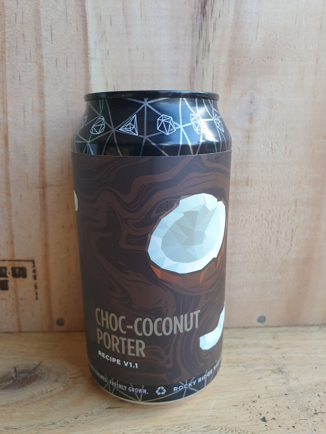 Rocky Ridge Choc Coconut Porter 375ml Can