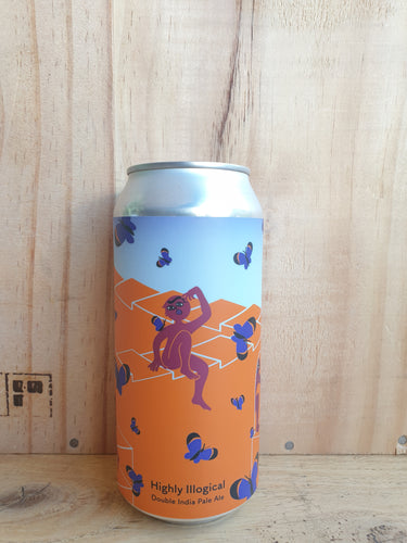 Tallboy and Moose Highly Illogical Double IPA 440ml