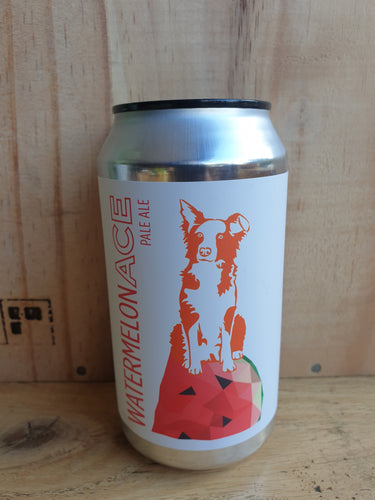 Rocky Ridge Watermelon Ace Fruited Plae Ale 375ml Can