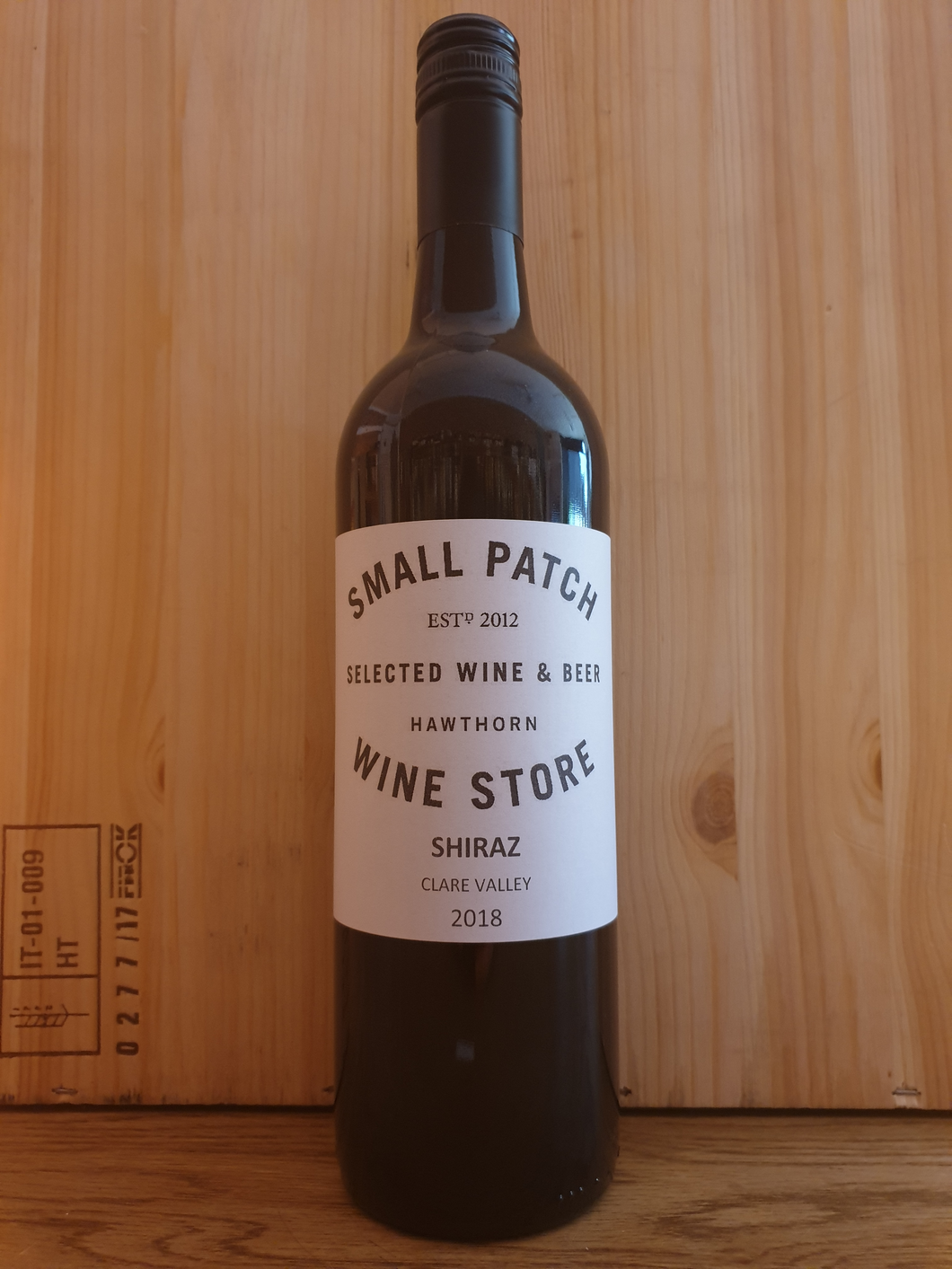 Small Patch Shiraz Clare Valley 2018
